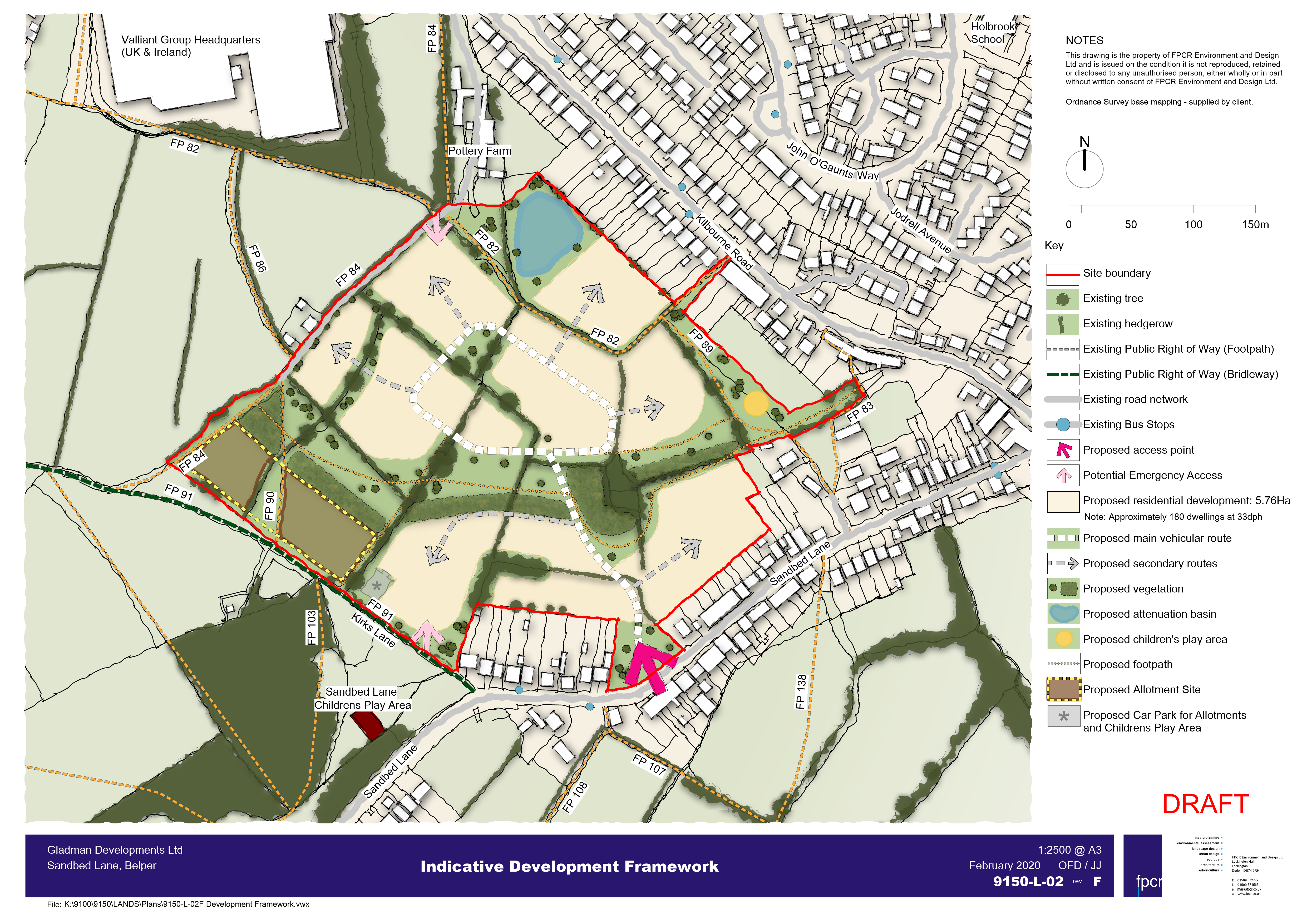 location development plan